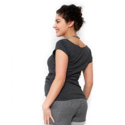 BIO kojenecké bavlněné tričko NICOL MEDVÍDEK - dlouhý rukáv - 56 (1-2m)
