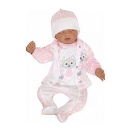 Baby Nellys Kojenecké bavlněné dupačky, Little Prince