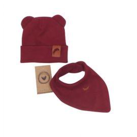 Baby Nellys maxi oboustranné hnízdečko minky Baby Stars, sv.růžová minky, K19