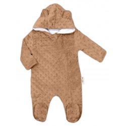 BOBO BABY Dětská zástěrka Příšerka - zelená
