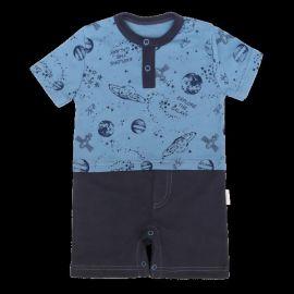 Baby Nellys Spací vak Cute Owls - šedý