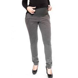 Gregx Těhotenská sukně ELVIA - šedá s odstínem