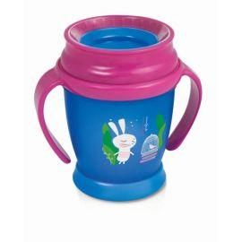 Baby Nellys 2-dílná kojenecká sada Zebra, vel. 74 - modrá - 74 (6-9m)