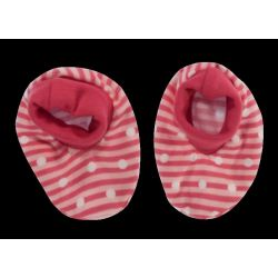 Mamatti Kojenecké botičky/ponožtičky Love Girl, červené