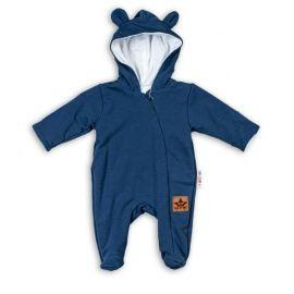 Kojenecký svetřík K-Baby s mašličkou - růžový, vel.