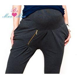 Bavlněná tepláková souprava Baby Nellys ® - tm. růžová - 56 (1-2m)