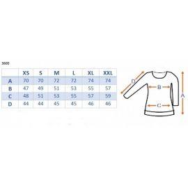 Baby Nellys Body dlouhý rukáv 100% ORIGINÁL - máta/šedý lem - 86 (12-18m)