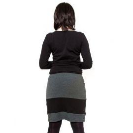 BABY NELLYS Zimní čepička s šálou - Sněhová vločka v bílé - 0/6 měsíců