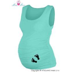 Be MaaMaa Těhotenské legíny - žluté