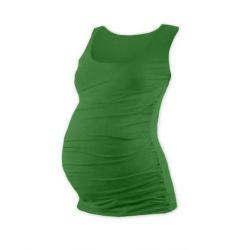 Be MaaMaa Těhotenský asymetrický svetřík - šedá