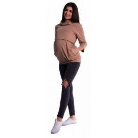 BABY NELLYS Zimní čepička s šálou - Autíčko sv. modré - 0/6 měsíců