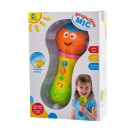Euro Baby Plyšový medvídek 34cm - bílo/smetanový