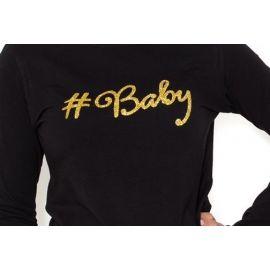 Gregx Elegantní těhotenské 3/4 kalhoty DENIM - bílá