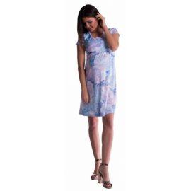 BABY NELLYS Zimní pletené kojenecké rukavičky - sv. modré - 0-1rok