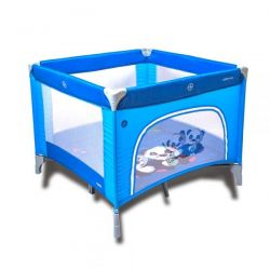 Coto Baby Skládací ohrádka Conti - modrá - PANDA