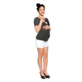 Mamo Tato Stan pro děti teepee, týpí bez výbavy - šedý / světle růžový