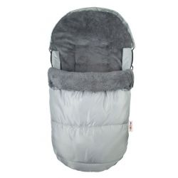Fusák Delux Baby Nellys ® 105x50cm - šedý