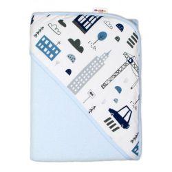 Little FROG Žakárový tkaný šátek na nošení dětí - Black Charm - XL (42)