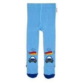 Bavlněná čepička Baby Nellys ® - Hvězdička/černý lem - 48/54 čepička obvod