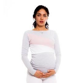 Baby Nellys Zvýšená poloha - Klín - minky modrá
