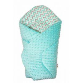 Mamo Tato Box na hračky - oboustranný, sv. růžová / hvězdičky šedé a růžové D
