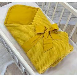 Bavlněná čepička Květinky Baby Nellys ® - tm. růžová - 48/52 čepičky obvod
